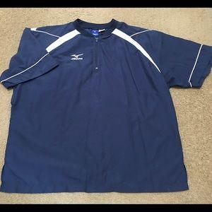 2XL mizuno short sleeve pullover